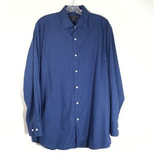 4/$20 -Robert Barakett men's shirt, size 16  32/33